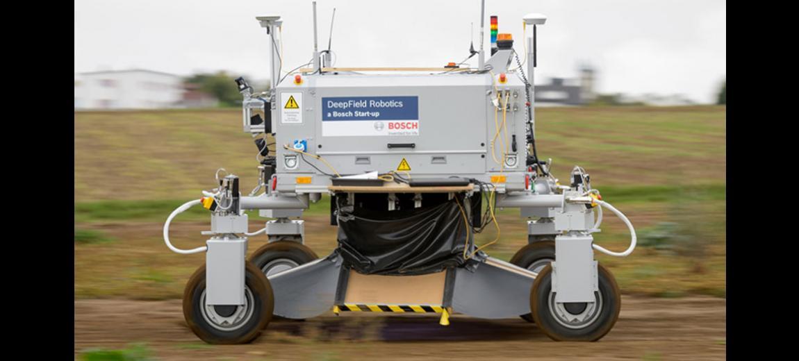 Photo of the Bosch DeepField Robotics - Photo courtesy of Bosch Deepfield Robotics