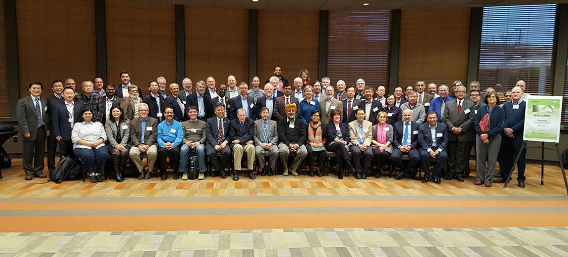 Group photo of the SmartAg Symposium participants